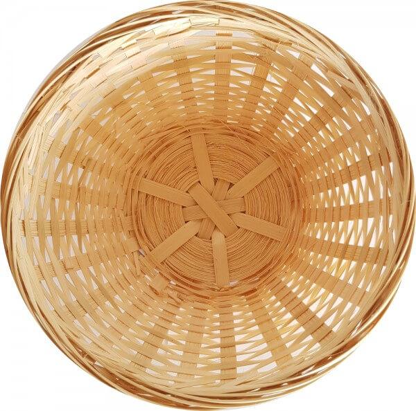 Bambusschale rund für Duftholz