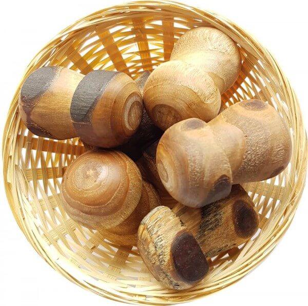 10x Anti Stress Duftholz zur Lufterfrischung und Raumbeduftung - Dufthölzer - Duftfrüchte - Duftkugel