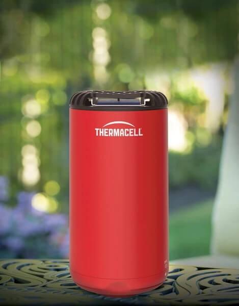 Thermacell Mückenschutz Designtischgerät HALOmini ~ Farbe Rot