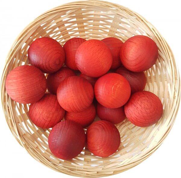 Orange Duftholz zur Lufterfrischung und Raumbeduftung - Dufthölzer - Duftfrüchte - Duftkugel