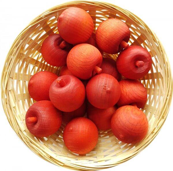 Aprikose Duftholz zur Lufterfrischung und Raumbeduftung - Dufthölzer - Duftfrüchte - Duftkugel