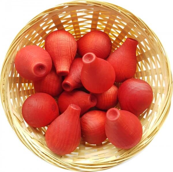 25x Maracuja Tropic Duftholz zur Lufterfrischung und Raumbeduftung - Dufthölzer - Duftfrüchte - Duftkugel