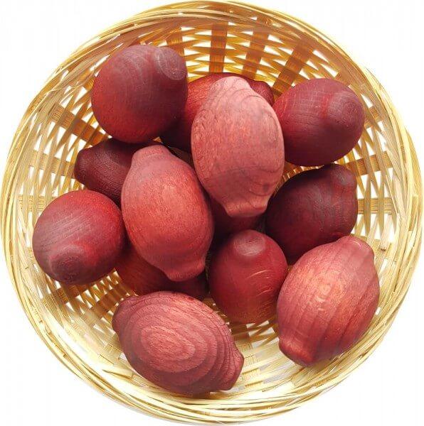 5x Mango Duftholz zur Lufterfrischung und Raumbeduftung - Dufthölzer - Duftfrüchte - Duftkugel