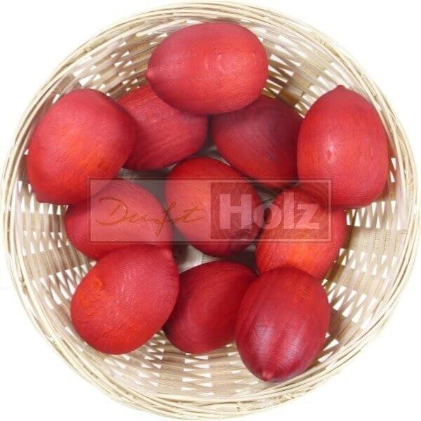 50x Wassermelone Duftholz zur Lufterfrischung und Raumbeduftung - Dufthölzer - Duftfrüchte - Duftkugel