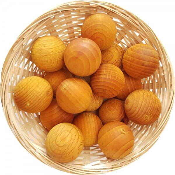 5x Vanille Duftholz zur Lufterfrischung und Raumbeduftung - Dufthölzer - Duftfrüchte - Duftkugel