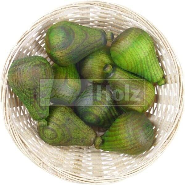 10x Birne Duftholz zur Lufterfrischung und Raumbeduftung - Dufthölzer - Duftfrüchte - Duftkugel