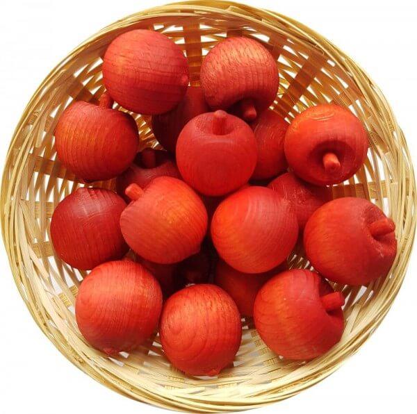 5x Mandarine Duftholz zur Lufterfrischung und Raumbeduftung - Dufthölzer - Duftfrüchte - Duftkugel