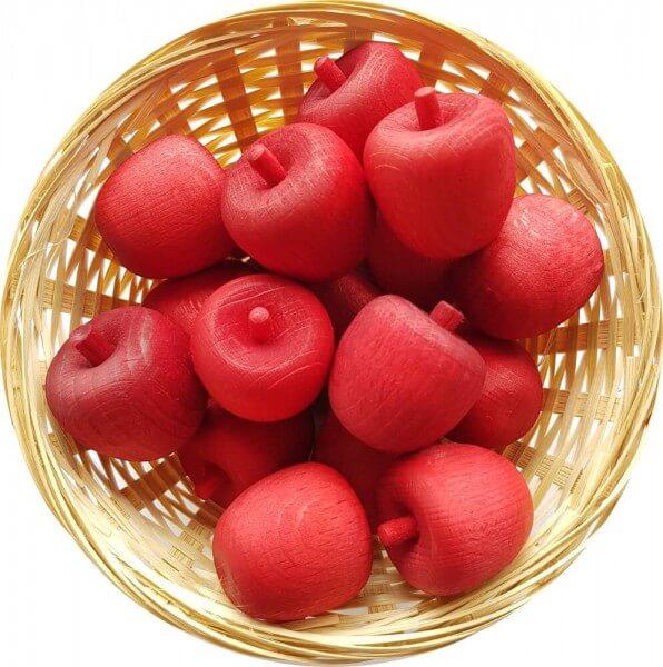 5x Granatapfel Duftholz zur Lufterfrischung und Raumbeduftung - Dufthölzer - Duftfrüchte - Duftkugel