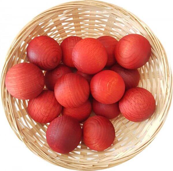 5x Orange Duftholz zur Lufterfrischung und Raumbeduftung - Dufthölzer - Duftfrüchte - Duftkugel