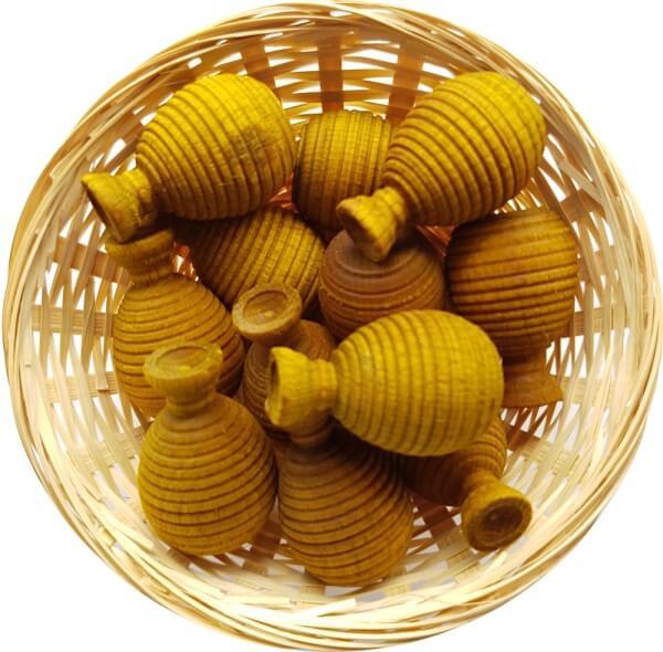Ananas Duftholz zur Lufterfrischung und Raumbeduftung - Dufthölzer - Duftfrüchte - Duftkugel