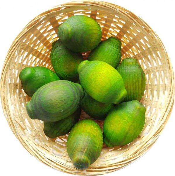 5x Limone Duftholz zur Lufterfrischung und Raumbeduftung - Dufthölzer - Duftfrüchte - Duftkugel