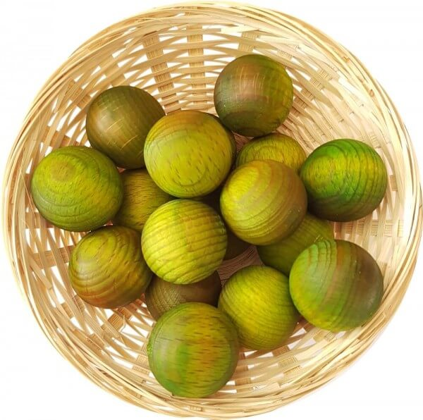 10x Lemongras Duftholz zur Lufterfrischung und Raumbeduftung - Dufthölzer - Duftfrüchte - Duftkugel