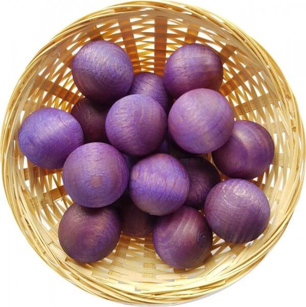 5x Lavendel Duftholz zur Lufterfrischung und Raumbeduftung - Dufthölzer - Duftfrüchte - Duftkugel