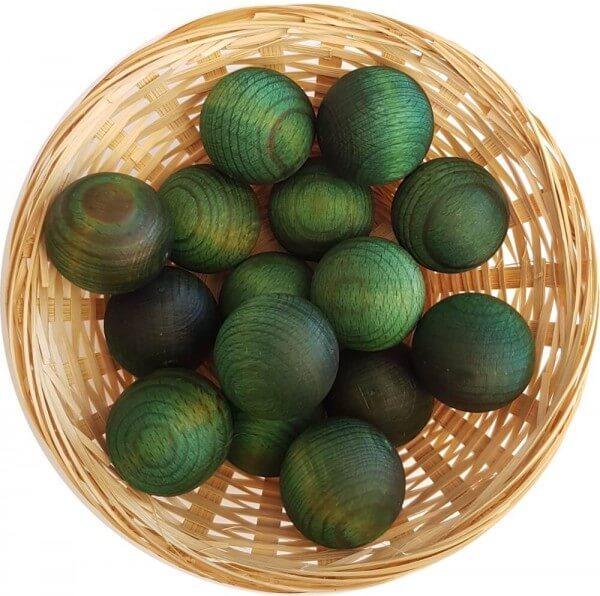 25x Eukalyptus Duftholz zur Lufterfrischung und Raumbeduftung - Dufthölzer - Duftfrüchte - Duftkugel