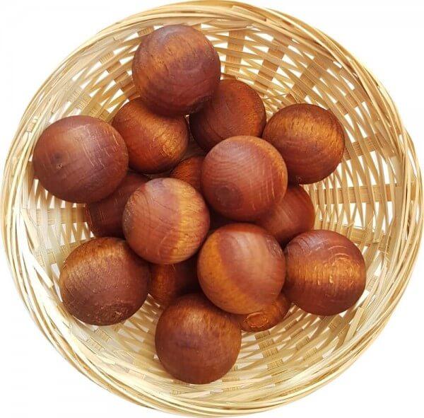 5x Honig Duftholz zur Lufterfrischung und Raumbeduftung - Dufthölzer - Duftfrüchte - Duftkugel